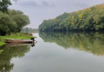 Clean river from village to village 2020